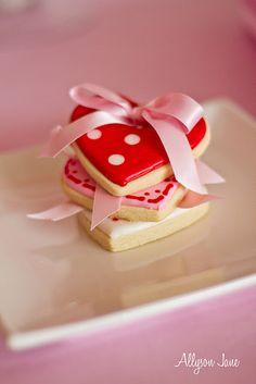 sweet valentine's cookies by Allyson Jane