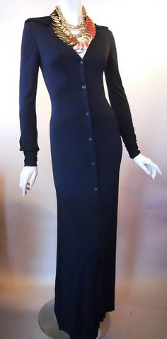 vintage halston dress