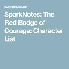 an analysis of the story of the red badge of courage The red badge of courage essay examples 173 total results account of the works of stephen crane  an analysis of the red badge of courage by stephen crane.