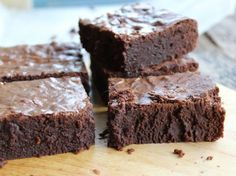 The Ultimate Fudgy Brownies (and Three Variations)