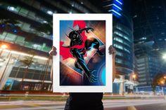 Batman Beyond #47 Fine Art Print by Francis Manapul | Sideshow Fine Art Prints