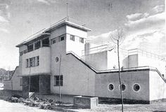 Playa de Madrid. 1935. Arquitecto Manuel Muñoz Monasterio