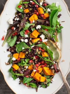 Forbidden Rice Pumpkin Salad Recipe