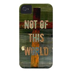 Not of This World Custom Christian iPhone 4 Case