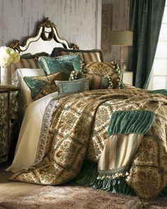 """Matouk """"Azure Seas"""" Bed Linens - Horchow"""