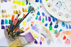 British Association of Art Therapists (BAAT) (@baat_org) / Twitter Early Childhood Centre, Early Childhood Education, Feng Shui, Aloe Vera, Art Curriculum, Comparing Yourself To Others, Art Base, Process Art, Woman Painting