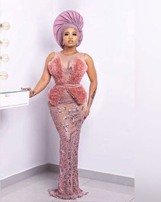 Aso Ebi Lace Styles, African Lace Styles, Lace Dress Styles, African Lace Dresses, Latest African Fashion Dresses, Ankara Styles, Nigerian Lace Styles Dress, Nigerian Fashion, African Inspired Fashion