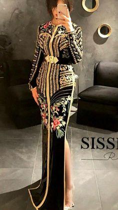 Morrocan Fashion, Morrocan Dress, Moroccan Caftan, Oriental Fashion, Sexy Maxi Dress, Caftan Dress, Afghani Clothes, Hijab Style Dress, Wedding Dress Necklines