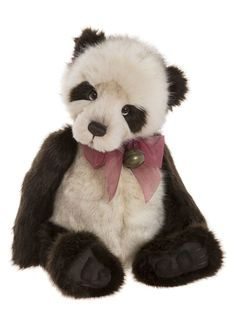 Dennis's sweet face is ready for snuggles! Add this Charlie Bear to your collection or give someone you love a lifelong friend. From Charlie Bears. Bear Paws, Panda Bear, Bear Meaning, Boyds Bears, Teddy Bears, Charlie Bears, Morris, Shades Of Beige, Cute Bears