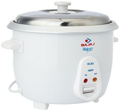 Online deal for 849 | Pigeon Favourite Electric Rice Cooker with Steaming Feature(1 L, White) | from flipkart.com online shopping