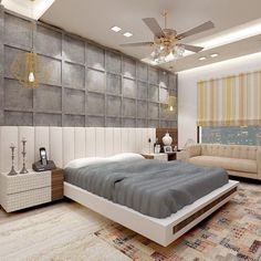 Discover recipes, home ideas, style inspiration and other ideas to try. Indian Bedroom Design, Luxury Bedroom Design, Master Bedroom Interior, Bedroom Closet Design, Bedroom Furniture Design, Home Room Design, Bed Headboard Design, Bedroom Design Inspiration, Apartment Interior Design