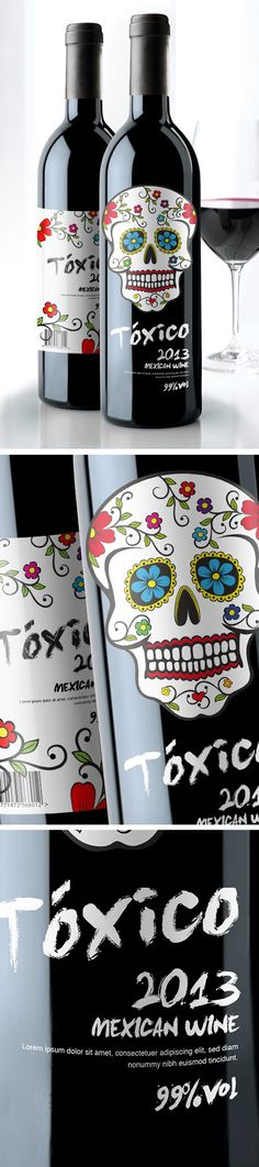 Toxico Mexican Wine. Um.... I need to try this asap.