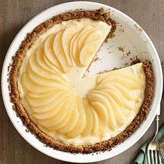 Maple-Pear Cheesecake Pie - FamilyCircle.com