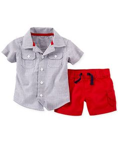 Carter's Baby Boys' 2-Piece Fourth of July Set