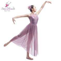 3fbe694960bd US $35.0 |Aliexpress.com : Buy Top Quality Girls Sequin Dress Ballet Dance  Lyrical Dress Women Stage Costumes Contemporary Dance Long Mesh Dress 16031  from ...