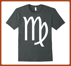 Mens Virgo Sign Shirt Astrology Birthday Party Gift T-shirt Medium Dark Heather - Birthday shirts (*Partner-Link)