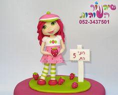 strawberry shortcake cake by cakes-mania  עוגת תותית מאת שיגעון העוגות - www.cakes-mania.com