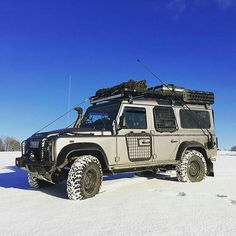 The climate in some countries is bringing nice conditions to our favourite #4x4 #landrover #defender110csw #landroverdefender #landroverphotoalbum