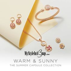 41109b47d637a Our Summer Collection is here and so is our new Yellow Gold Tone Snaps and  Jewelry