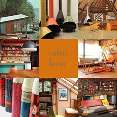Mid-Century Monday Inspiration: the perfect cabin.