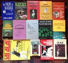 LOT OF 14 GAMBLING BOOKS, JAI ALAI, BLACKJACK, DICE | eBay