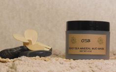 Dead Sea Mineral Mud Mask by OffshoreBreeze on Etsy, $10.00