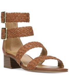 Franco Sarto Toma Double Ankle-Strap Sandals