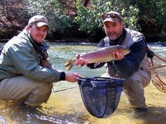 Georgia cherokee and trips on pinterest for Fly fishing blue ridge ga