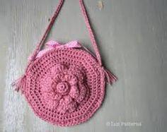 Resultado de imagem para crochet childrens bags pink