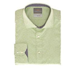 Thomas Dean Co. | Big & Tall Green Button Down Sport Shirt
