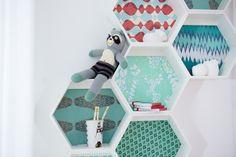 Znalezione obrazy dla zapytania honeycombs bathroom