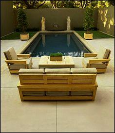 wood deck furniture ideas - Szukaj w Google