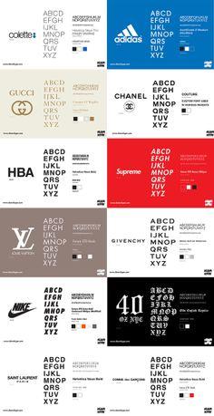 Streetwear   Fashion Houses Fonts. d98bc8250875