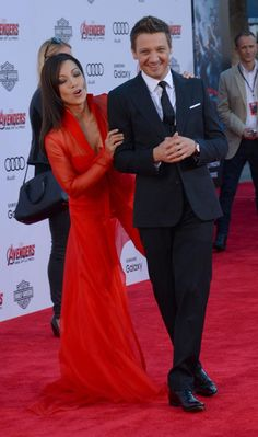 Ming-Na Wen, left, and Jeremy Renner - 'Avengers: Age of Ultron' Premiere in Los Angeles