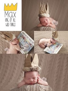 Family Photography, Newborn Session, Where The Wild Things Are, Maurice Sendak