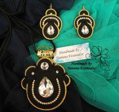 new earrings and neclase / ახალი საყურე და კულონი