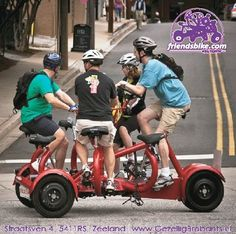 group bike for 7 people Bicycle Design, Tandem, Tricycle, Baby Strollers, Cycling, Bike, People, Fun Ideas, Conference