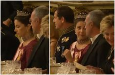 The Royal Order of Sartorial Splendor: Tiara Watch of the Day: Queen Máxima in Portugal