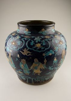 Fahua Jar (Ming dynasty). The Met