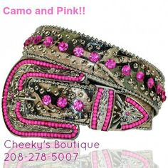 Camo and pink