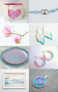 Spring dreams by Cristina Idrovo Carrillo on Etsy--Pinned with TreasuryPin.com