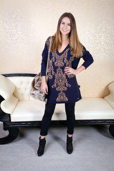 Jarní outfit - oversize svetr a boty Geox na podpatku. Ootd / fashion / sweather / Liu Jo / czech girl