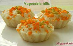 Niya's World: Vegetable Idli