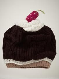 a cupcake hat! Every one of my nieces needs one of these!!