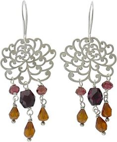 Silver Mum Charms, hook earring parts, and beading supplies at Nina Designs®. Visit us now! http://www.ninadesigns.com/jewelry_design_ideas/silver_mum_charms.html