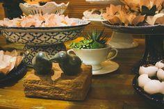 Detalhe mesa de doces Boho Chic - decor por Doce Trato Eventos. Foto: Alem de Dois