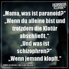 Paranoid und Schizophren