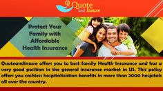 If you were talking about family health insurance, it is important to know about all the different things and ensure that you are able to get a policy that is suitable for your family. Don't simply pick something that is cheap, as you will have a tough time when you actually do make claims on it. Just take out a few minutes to read and implement the tips.