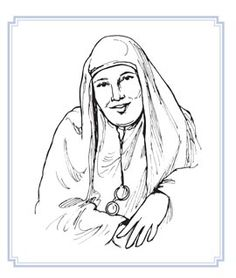 Mother Maria Skobtsova, the nun whose story is told in the children's book Silent as a Stone.