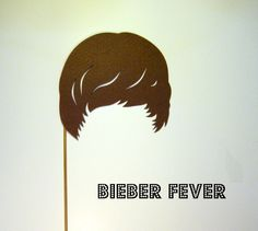 Photo booth prop Justing bieber hair Bieber Fever by KittyDuneCuts, $4.00